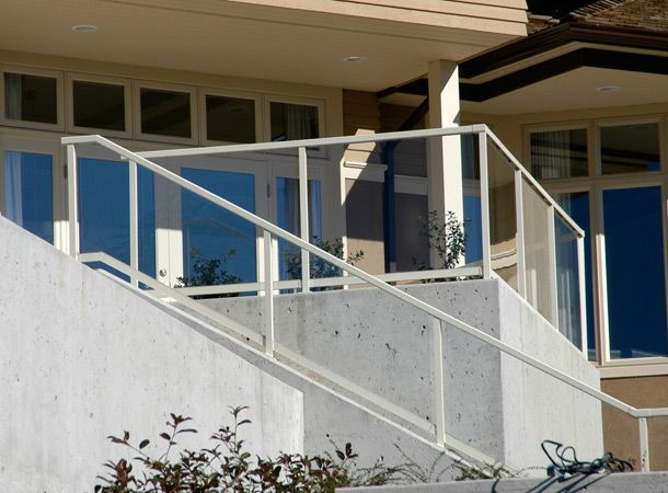 aluminum glass rails