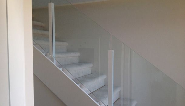topless glass rails