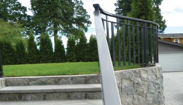 aluminum picket rails
